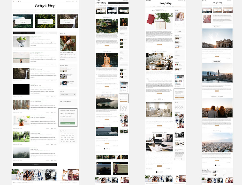 Everly-wordpress-blog-theme
