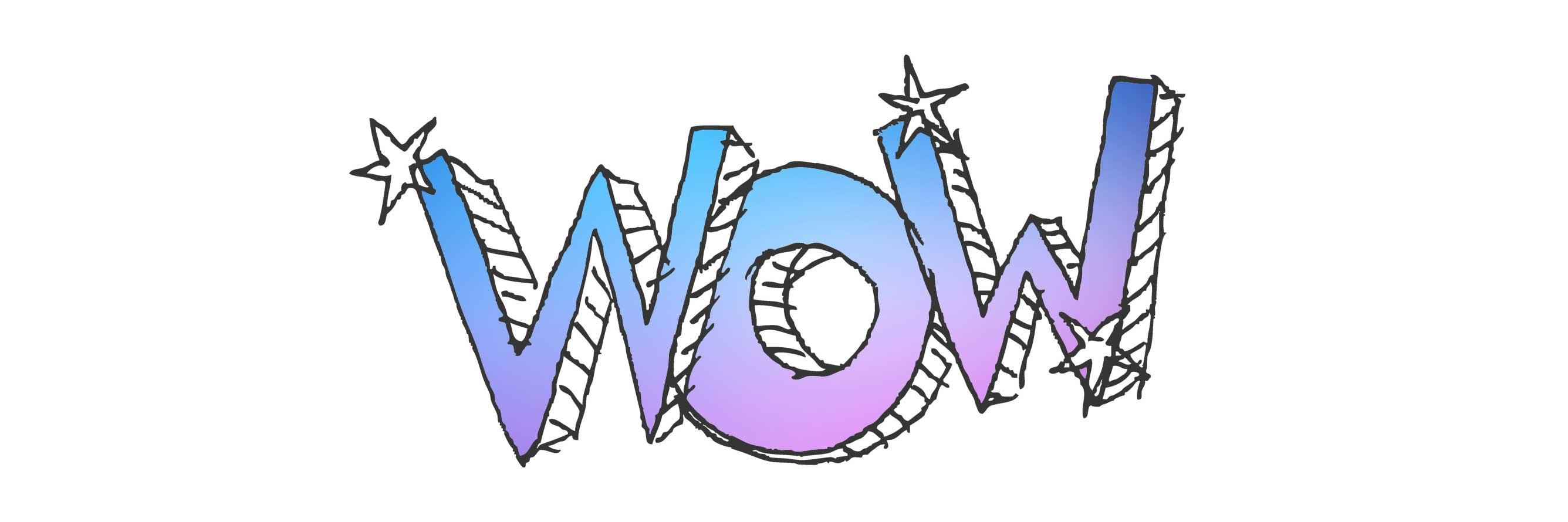 Logo z efektem wow!