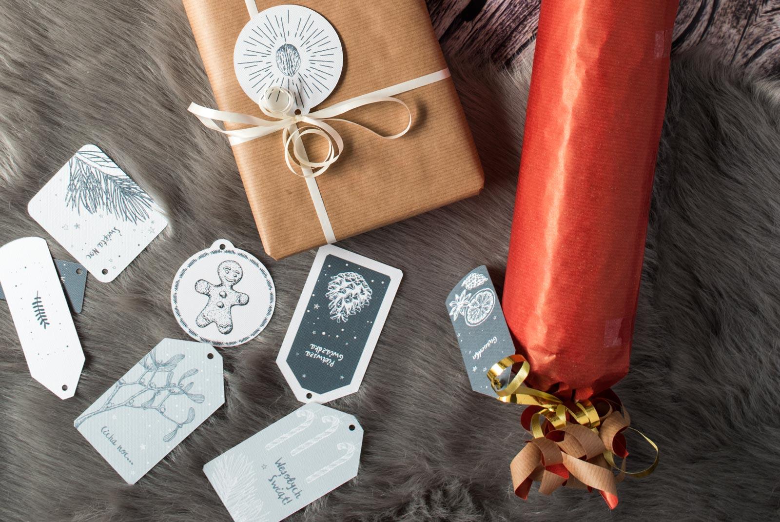Pobierz nasze darmowe etykiety do druku i obdaruj bliskich na Święta.